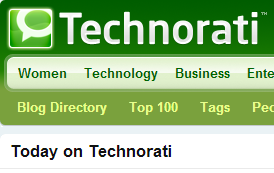 Technorati.com – The Biggest Opportunity For Bloggers