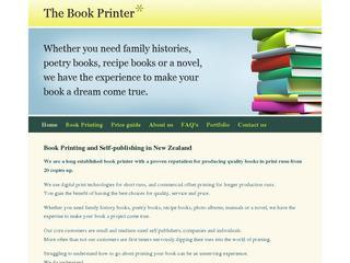 Book Printing in New Zealand